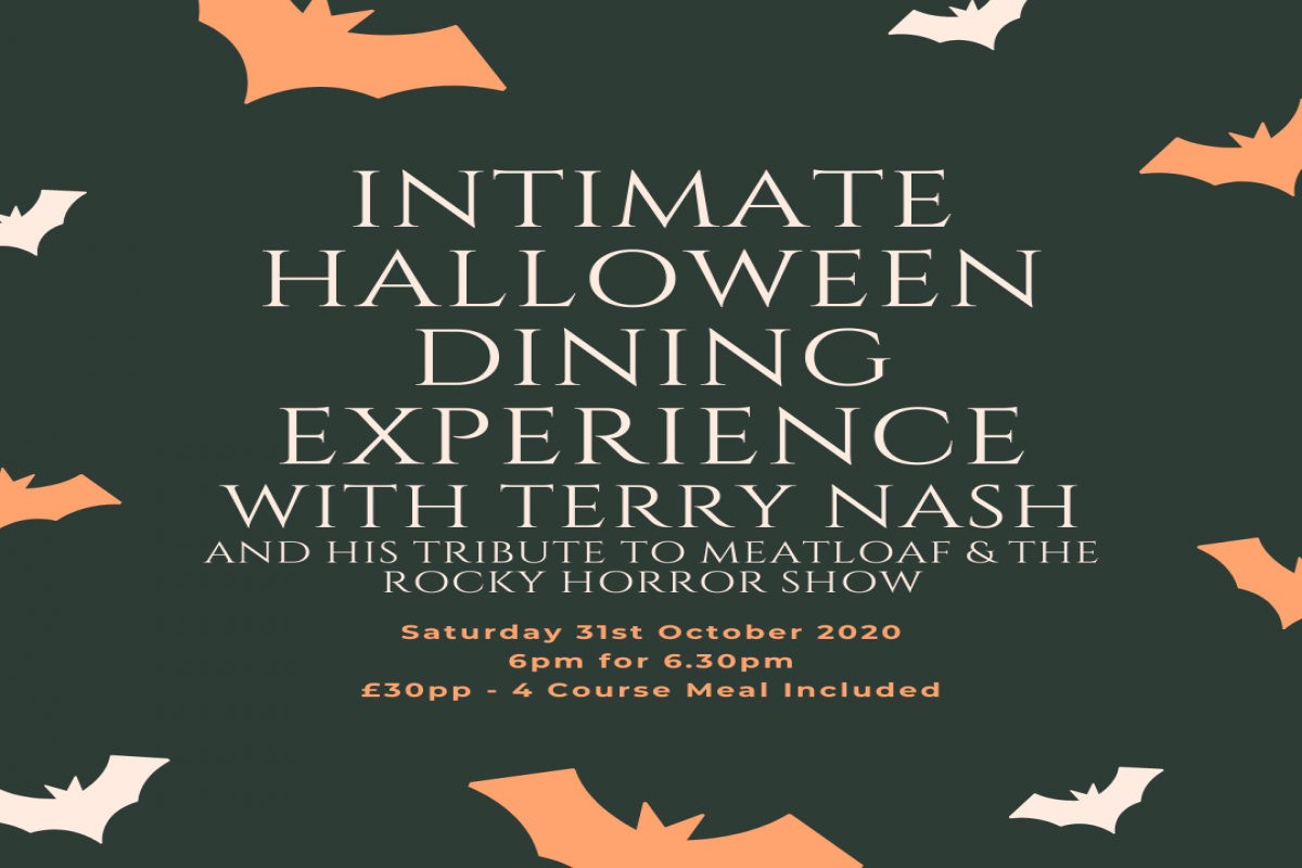 Intimate Halloween Dining Experience with Terry Nash