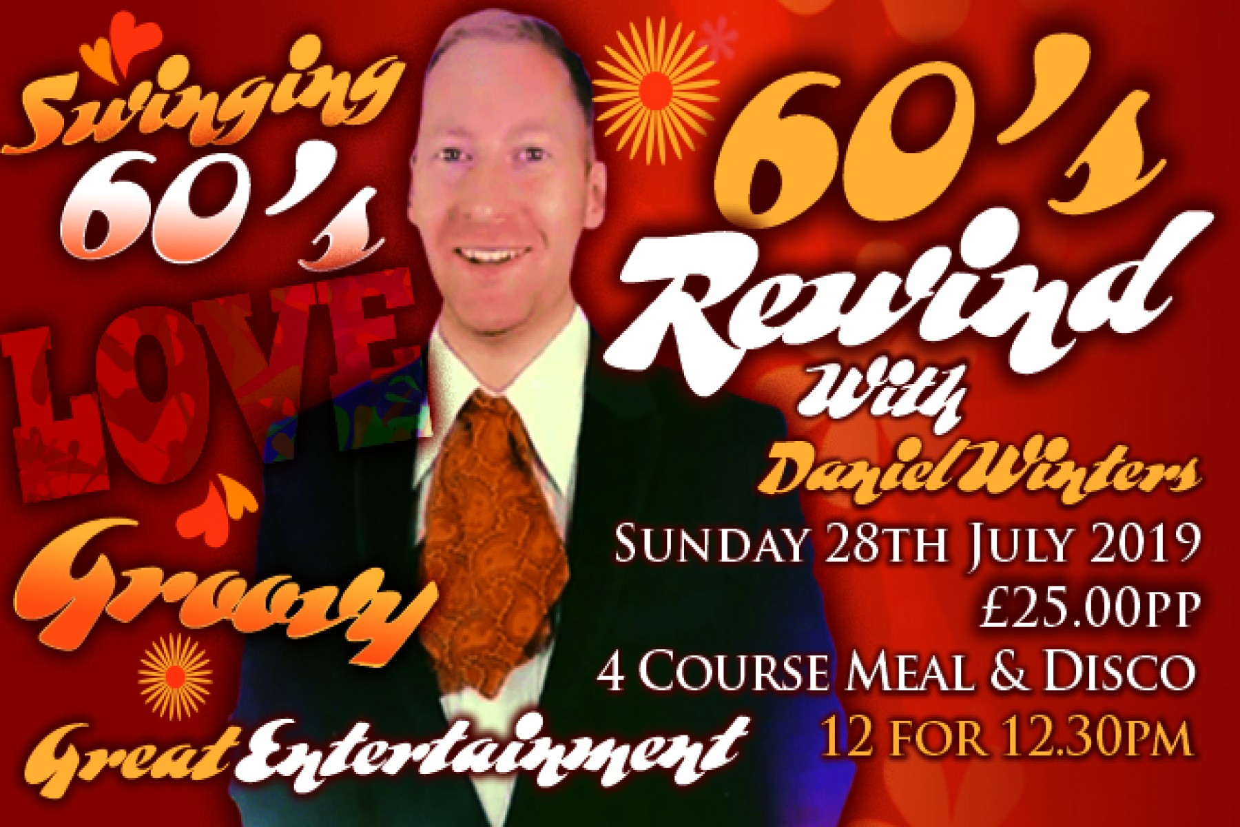 60's Rewind (28th July 2019)