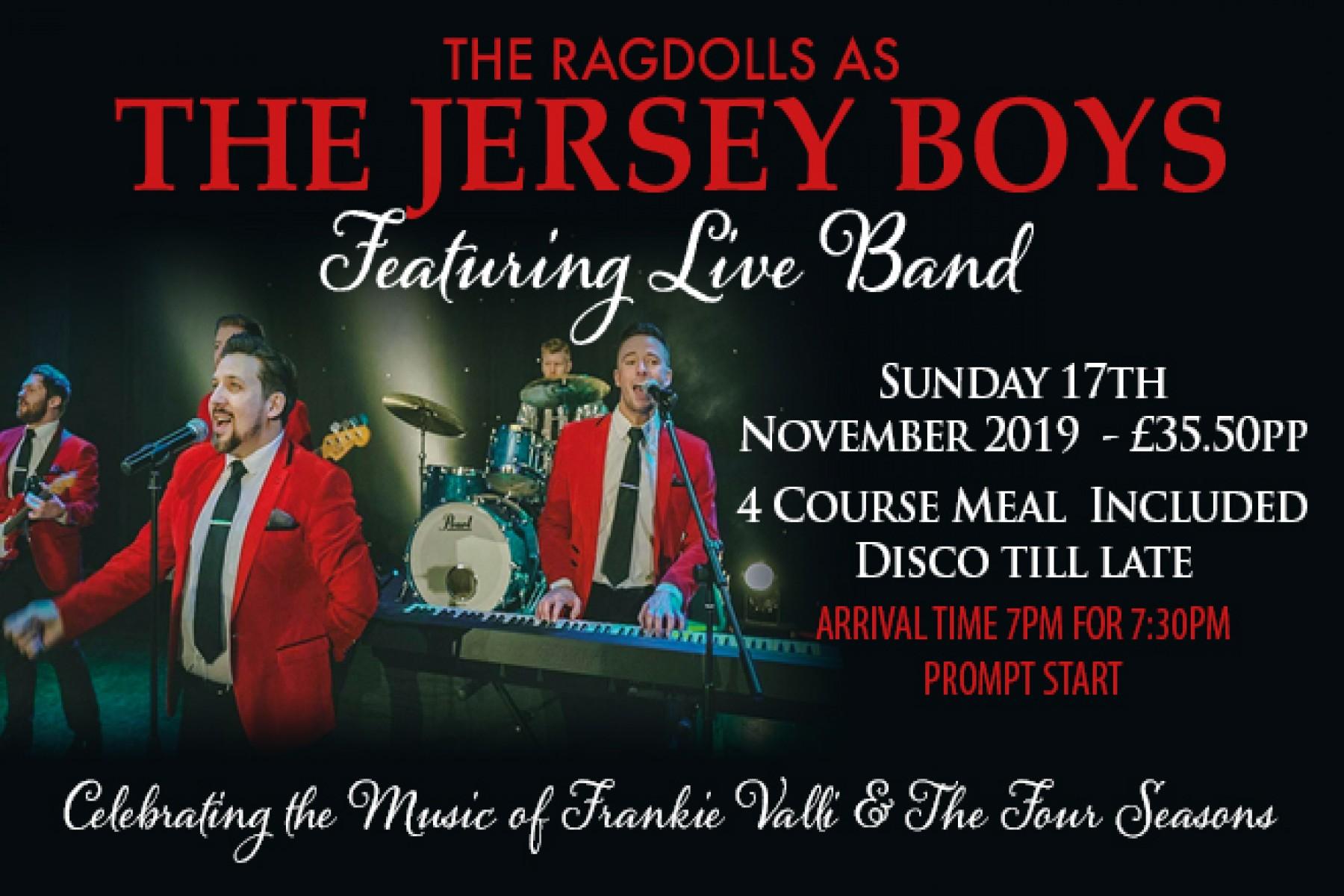 The Jersey Boys (17th November 2019)