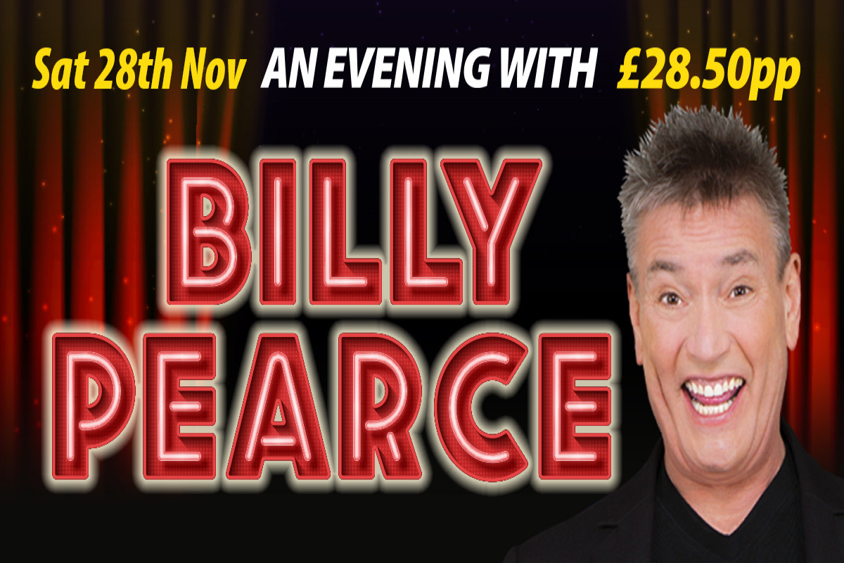 A Night with Billy Pearce