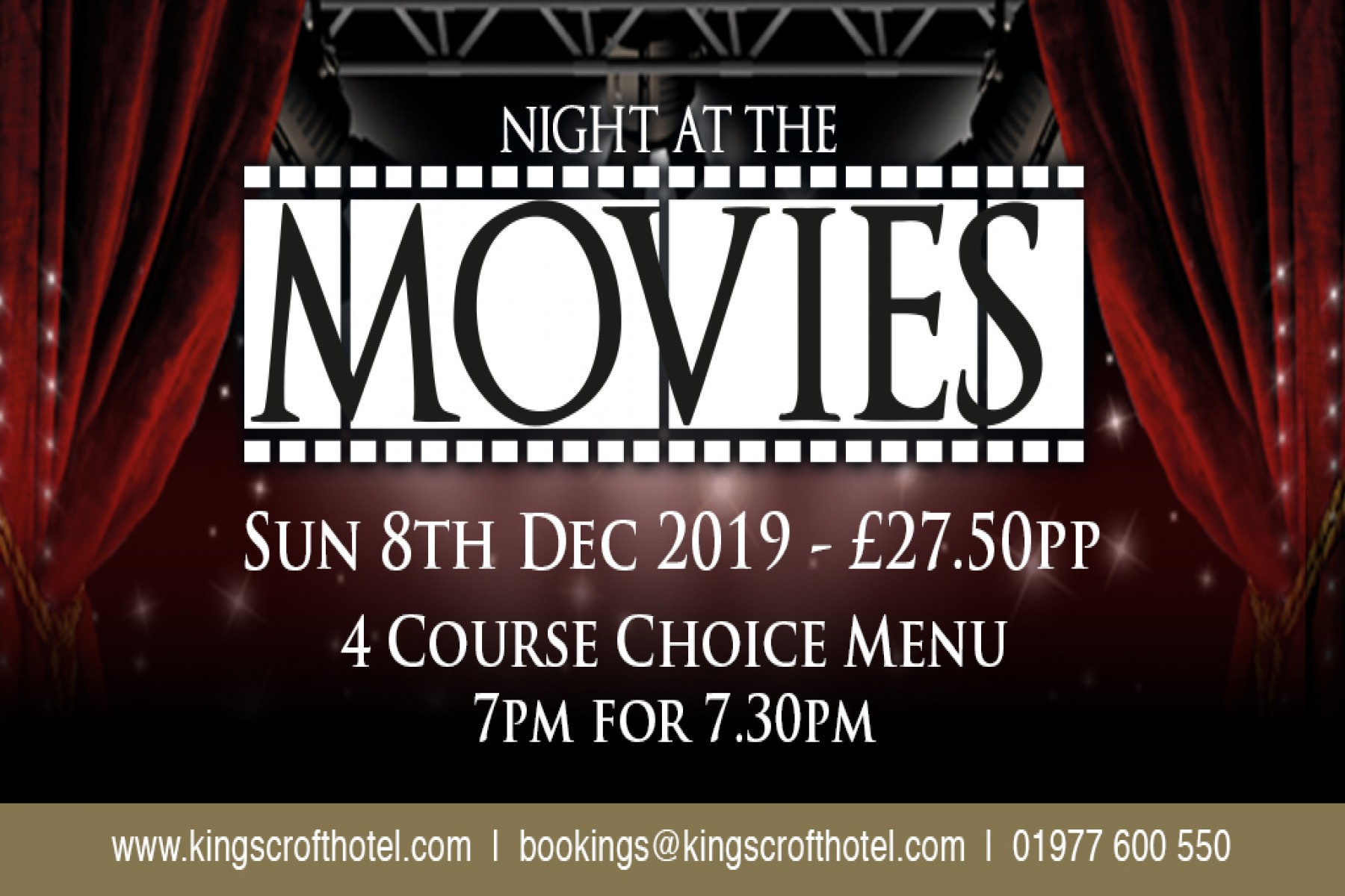 A Night At The Movies (8th Dec)