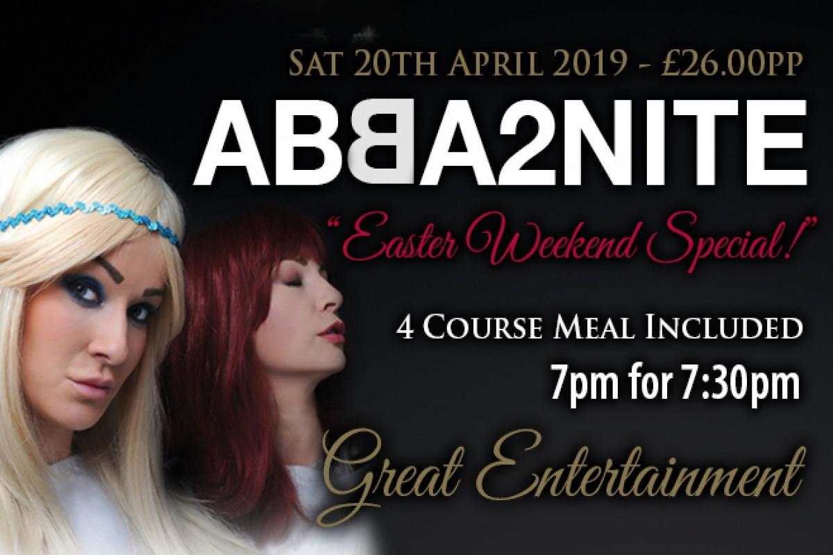 ABBA2NITE - Easter Weekend